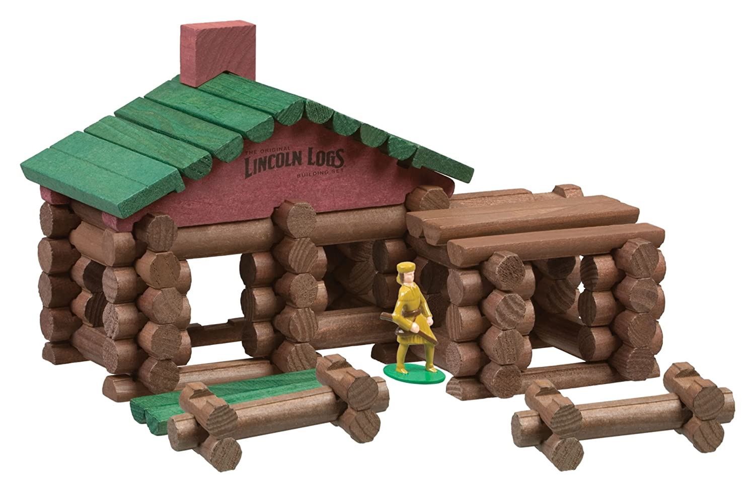 As A Kid My Dad Had Us Build A Log Cabin From The Ground