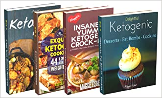 Insanely Low Carb Box Set 190+ Ketogenic Recipes: Breakfast, Lunch, Dinner, Snacks, Desserts, Cast Iron, Slow Cooker / Crockpot Recipes