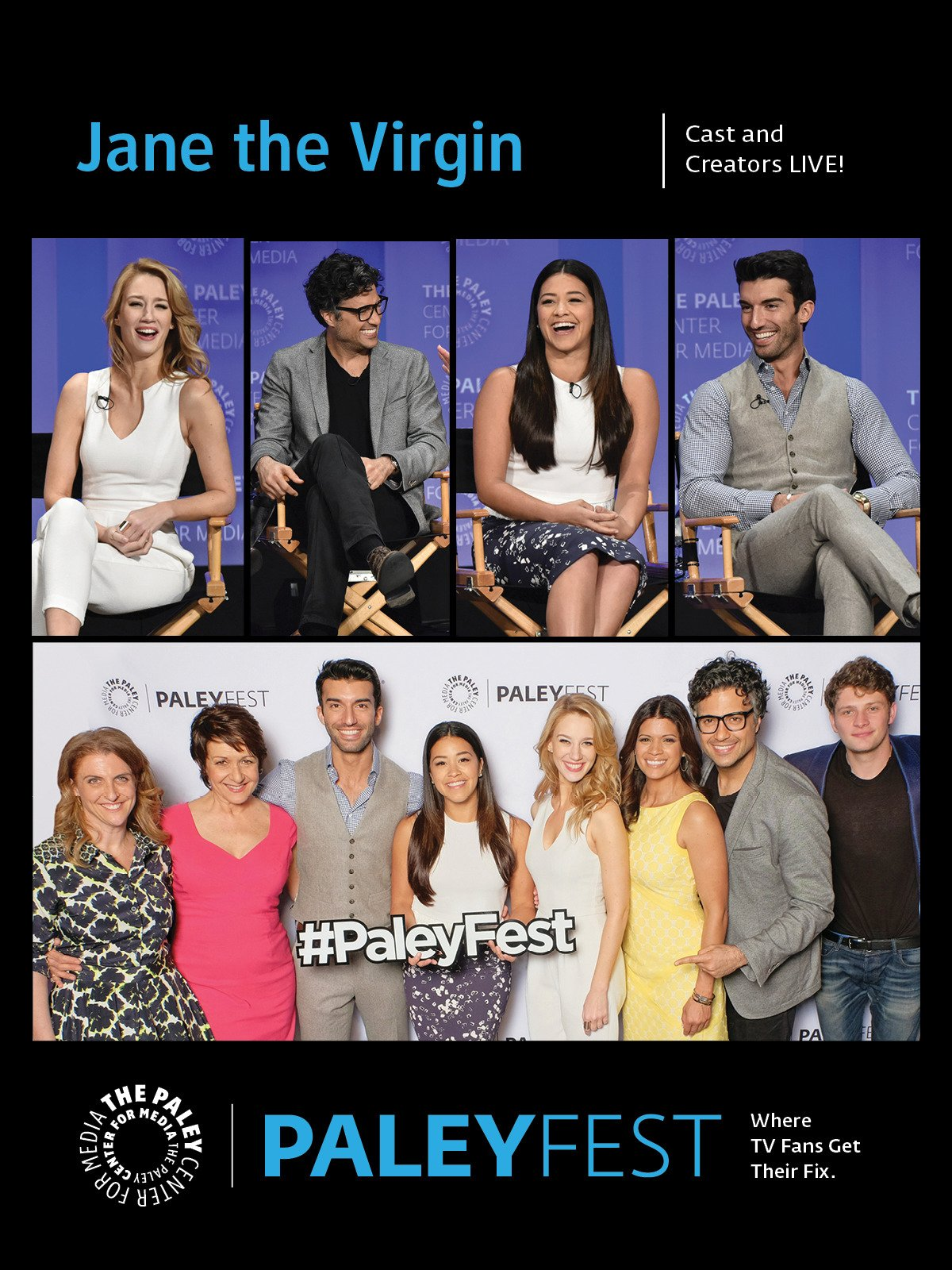 Jane the Virgin: Cast and Creators Live at PaleyFest LA