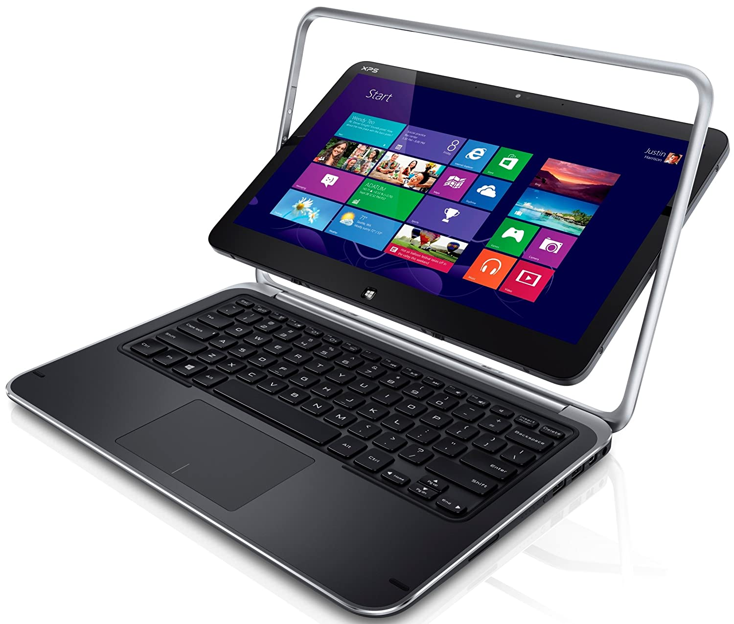 Dell XPS 12 XPSD12-5335CRBFB 12.5-Inch Convertible 2-in-1 Touchscreen Ultrabook