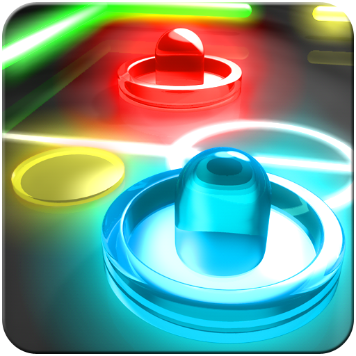 Free App of the Day is Glow Hockey 2 Pro