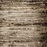 Kate 8x8ft Grey Wood Texture Photography Backdrops Vintage Wooden Wall Background for Shooting (Color: 7858, Tamaño: 8x8ft)