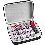 Battery Organiser Storage Box with Battery Tester (BT168), Case Bag holder fits for 9V D Lithium 3V(Not Includes Batteries) (Color: D)