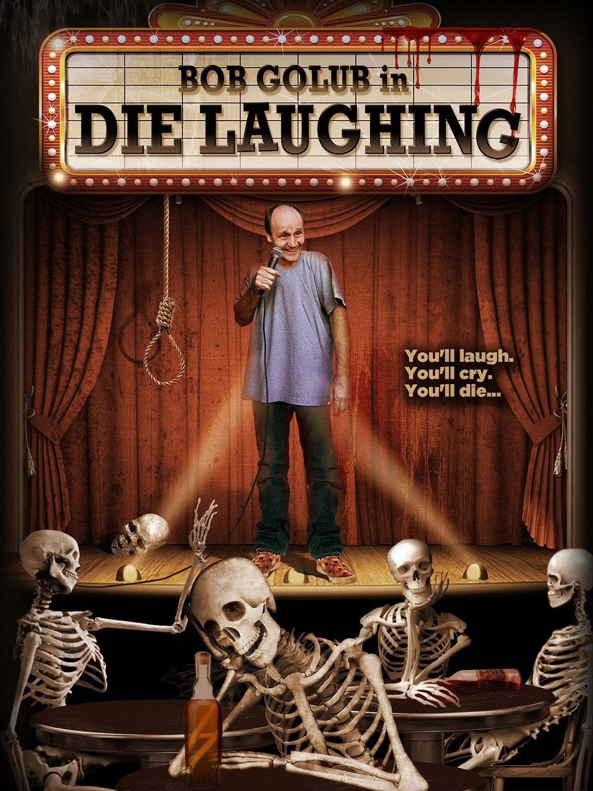 Die Laughing on Amazon Prime Instant Video UK