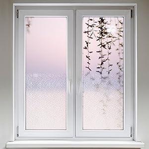 Artefact® Dekofolie / Fensterfolie Sechseck | statisch haftend (ohne Kleber) | verschiedene Größen  BaumarktBewertungen und Beschreibung