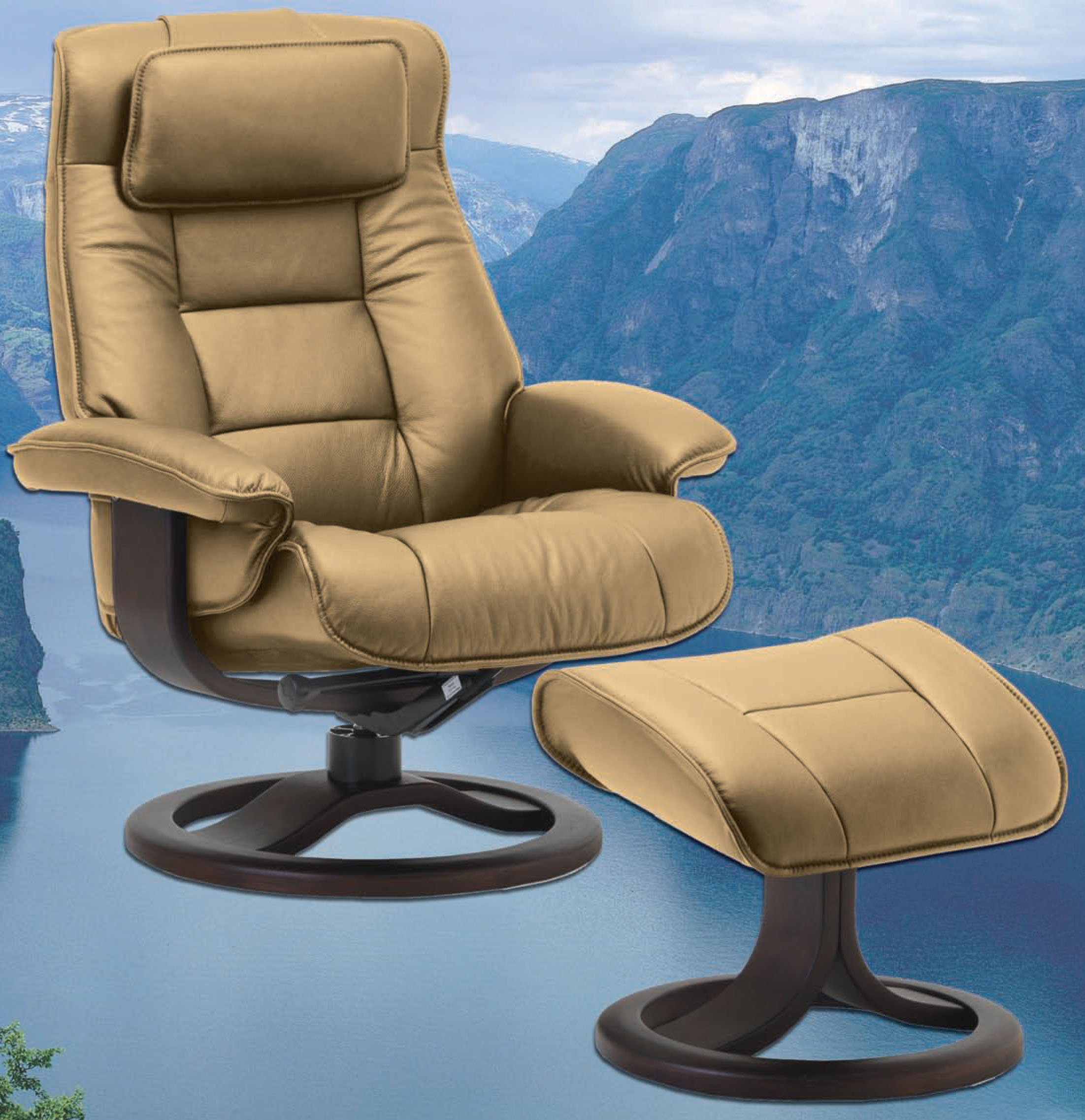 coaster casual products leatherette ottoman glider leather ottomans item b with number recliners recliner