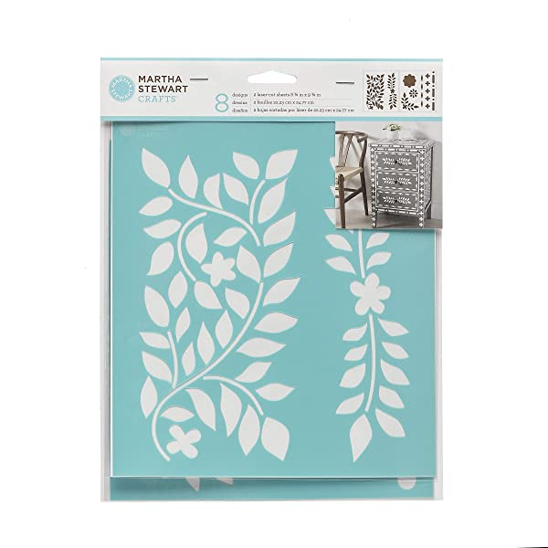 MARTHA STEWART Crafts Laser-Cut Stencils: Moroccan Inlay