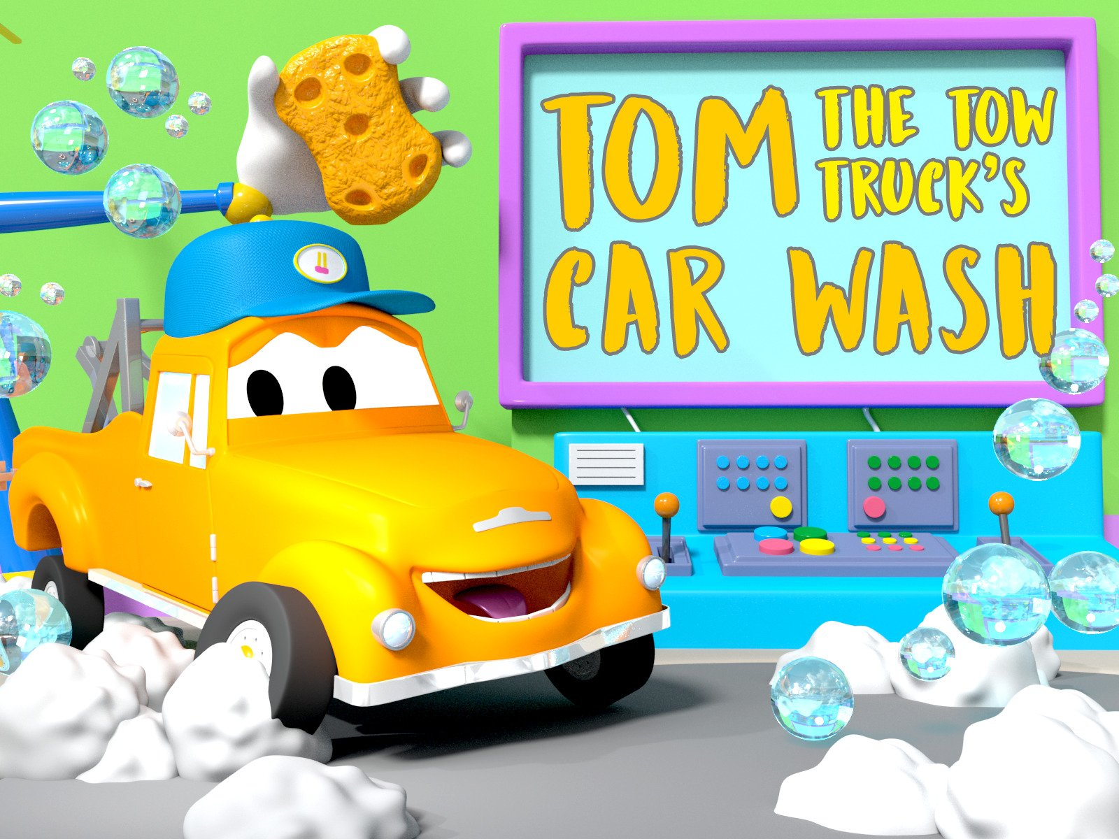 Tom the Tow Truck's Car Wash on Amazon Prime Instant Video UK