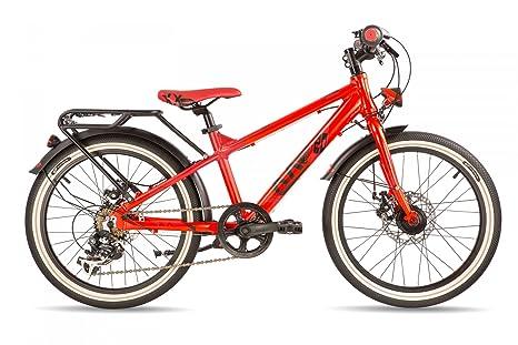 s'cool XXlite street 20-7 disc - Vélo enfant - rouge 2016 velo enfant 20 pouces