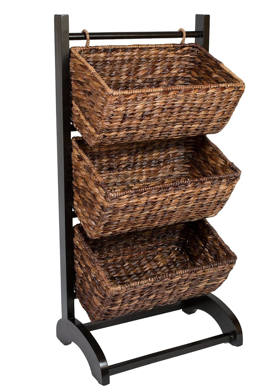 3 Tier Basket Storage Stand Images
