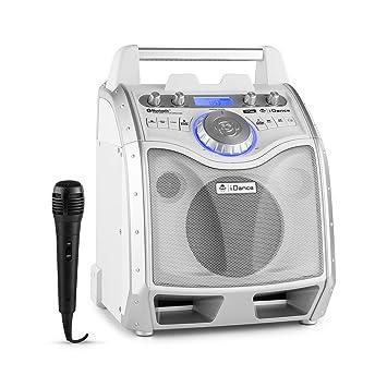 Enceinte nomade Bluetooth avec microphone iDance XD100 - Blanc