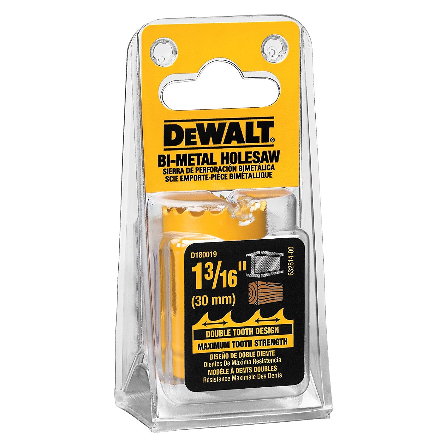 Dewalt D180019 1-3/16 Bi-Metal Hole Saw dewalt d 25820 k