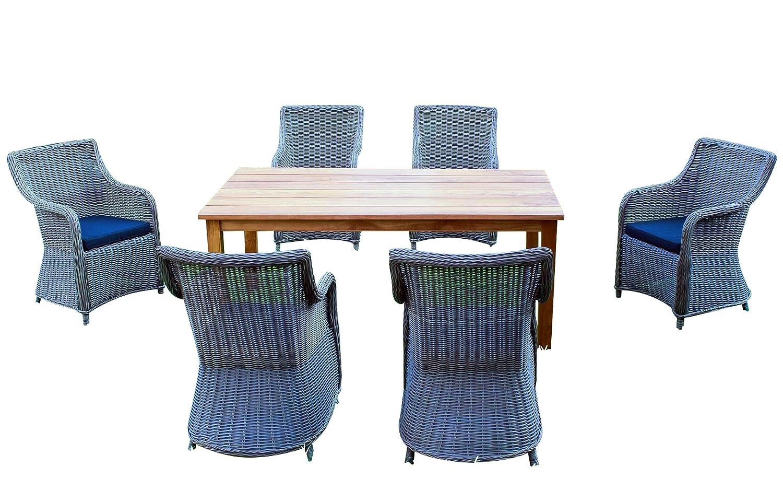 baidani gartenm bel sets 10a00015 designer rattan lounge. Black Bedroom Furniture Sets. Home Design Ideas