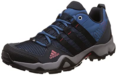 adidas Men's Ax2 Dkgrey, Corblu, Cblack and Scar Trekking and Hiking Boots 10