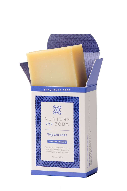 Organic Soap India Organic Baby Bar Soap by