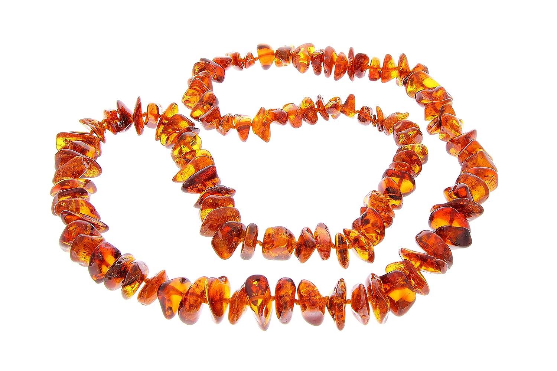 SilverAmber – Damen – Echte Baltischen Bernstein Halskette -NE0124 als Geschenk
