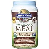 Garden of Life Meal Replacement - Organic Raw Plant Based Protein Powder, Chocolate, Vegan, Gluten-Free, 35.9oz (2lb 4oz/1,017g) Powder (Color: Chocolate, Tamaño: Large)