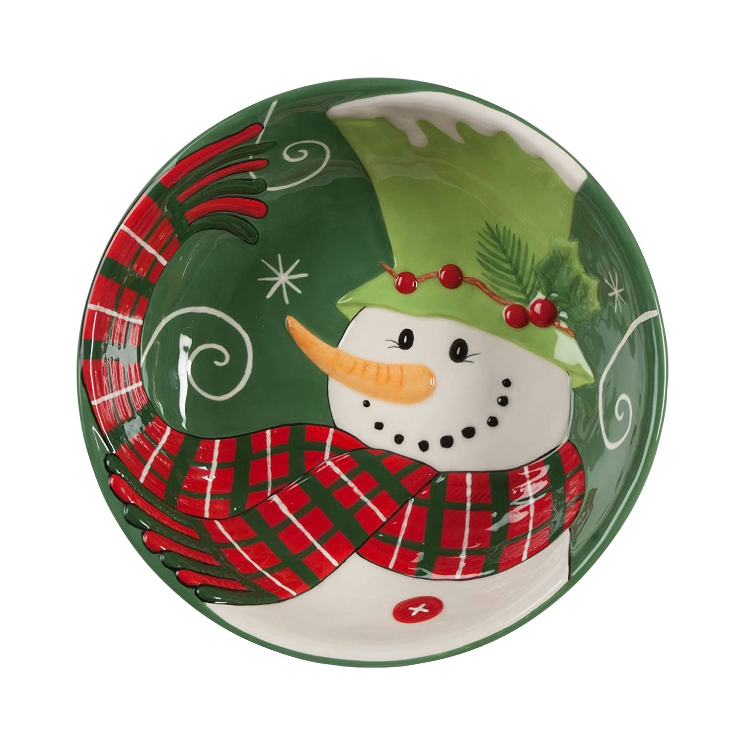 Holly Hat Snowman Dinnerware Collection By Fitz Amp Floyd