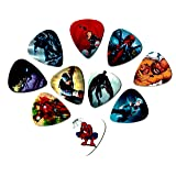 Marvel Guitar Picks (Avengers) (10 medium picks in a packet)(Black Panther and many others)