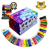 Acrylic Paint Set for Kids and Artists | 24 Colors Big Tubes 30mL | Rich Pigments, Premium Quality Paint Kit | Non-Toxic & Vibrant Colors for Canvas Wood & Fabric | Great Christmas Gift by Magikolor (Color: sew-08, Tamaño: 30mL)