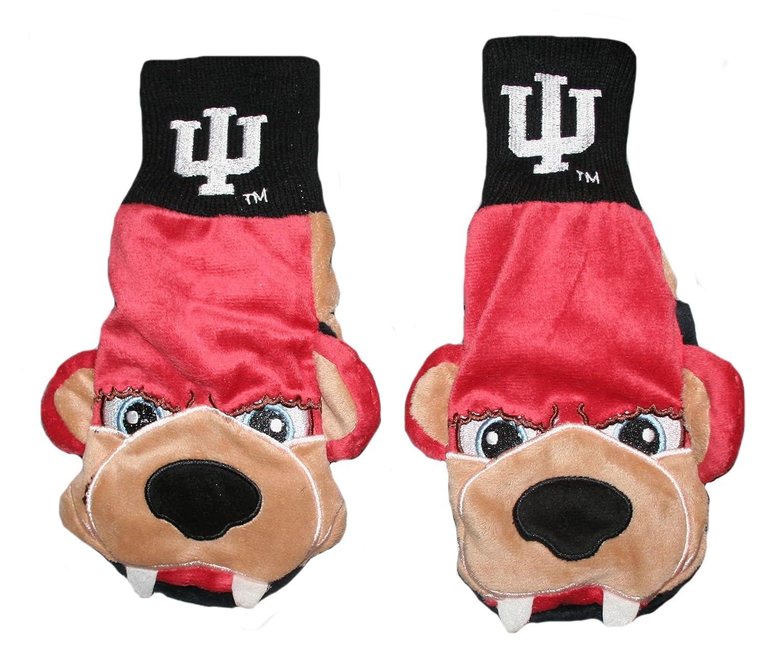 купить IU - Indiana University Mascot Mittens - Adult, 1 Pair дешево