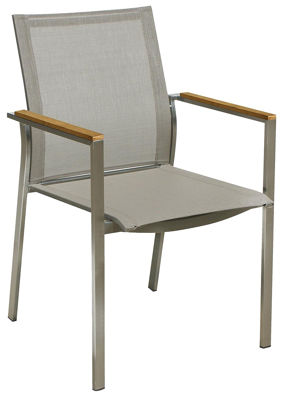 Nexus Edelstahl Sessel Stapelstuhl Gartensessel Gartenmöbel online kaufen