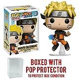 Funko Pop! Anime: Naruto Shippuden - Naruto Rasengan #181 Vinyl Figure (Bundled with Pop BOX PROTECTOR CASE) (Tamaño: 3.75 inches)