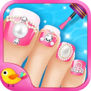 Toe-Nail Salon (Kindle Tablet Edition) by LiBii
