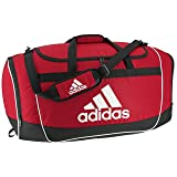 adidas Unisex Defender II Medium Duffel Bag, Power Red, ONE SIZE (Color: Power Red, Tamaño: Medium)
