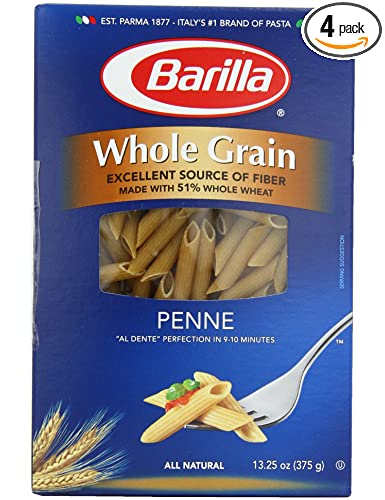 Amazon - Barilla Whole Grain Penne, 13.25-Ounce Box - 4pack - $3.50
