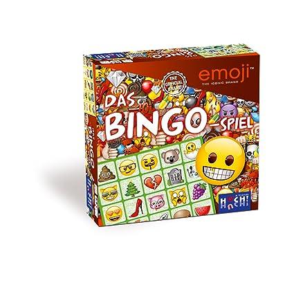 Huch & Friends - 879561 - Jeu de Bingo - Emoji