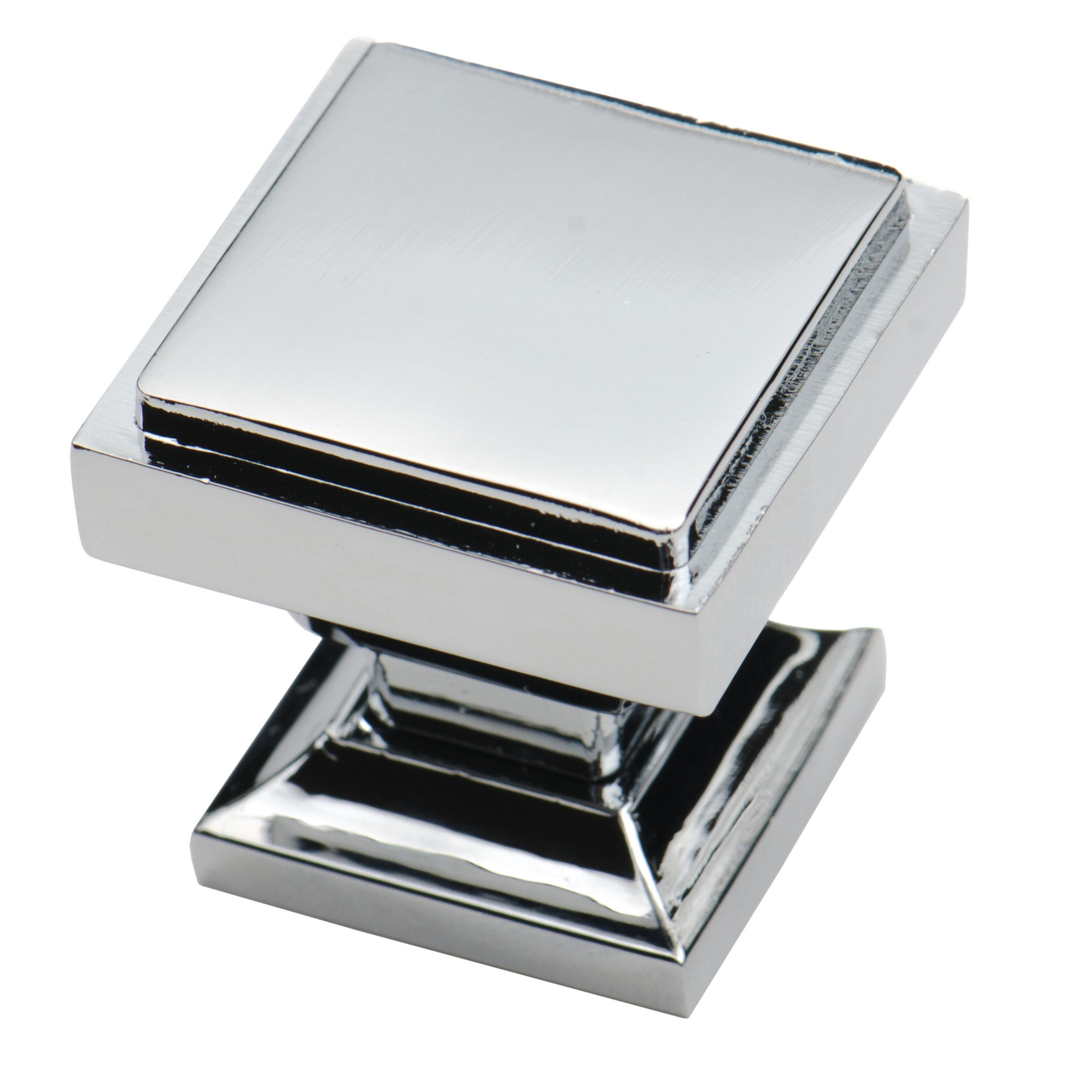 Southern Hills Polished Chrome Square Cabinet Knobs - Pack ...