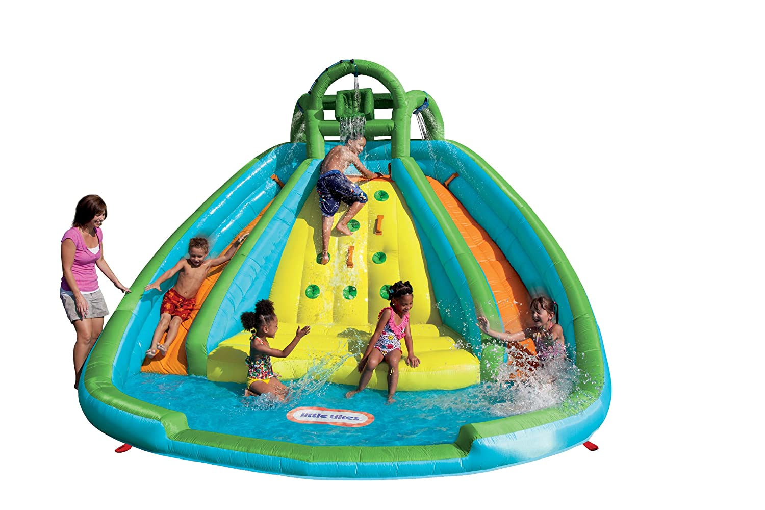 Little Tikes Rocky Mountain River Race Inflatable Waterslide