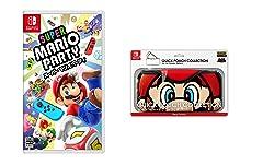 スーパー マリオパーティ+QUICK POUCH COLLECTION for Nintendo Switch (スーパーマリオ) マリオ 【Amazon.co.jp限定】オリジナル組み立てスマホペンスタンド 付