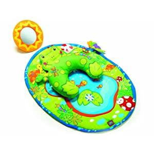 Tiny Love Tummy Time Fun Activity Mat Frog Baby Gear And