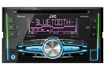 JVC KW-R910BTE Autoradios Bluetooth, En Façade