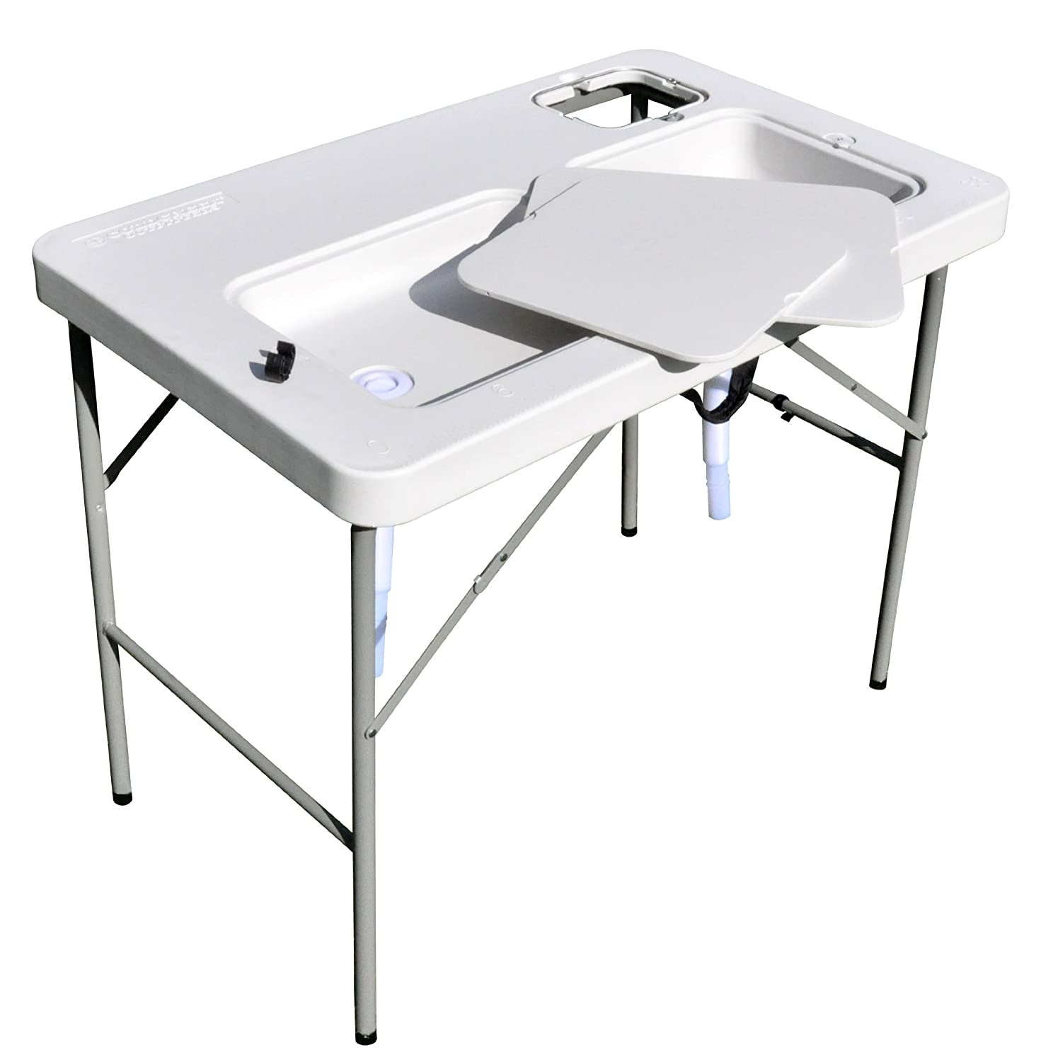 3 best portable fish cleaning tables fins catcher for Fish and game table