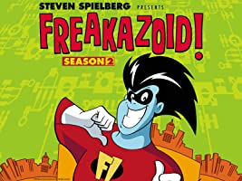 Steven Spielberg Presents Freakazoid!: The Complete Second Season