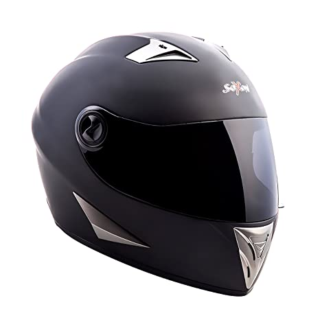 SOXON ST-550 Fighter casque noir IntZgral moto helmet quad scooter - L