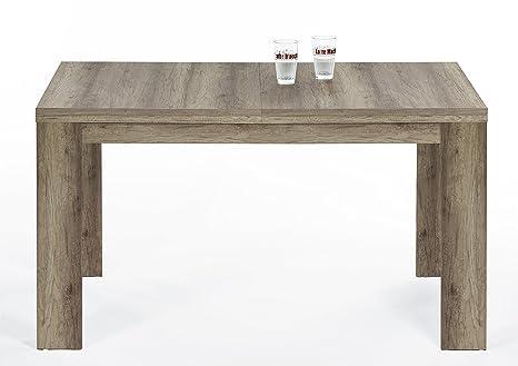 Ausziehbarer Tisch, Canyon Grey Dek.