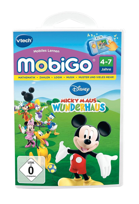 VTECH 80-250504 – MobiGo Lernspiel Micky Maus Wunderhaus als Weihnachtsgeschenk