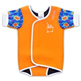Cheekaaboo Waterbabes Baby & Kids One Piece Swimsuit For Boys and Girls, 18-30 Months, Orange