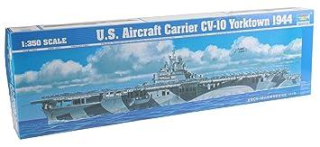 Trumpeter 1:350 - US Aircraft Carrier CV-10 Yorktown 1944