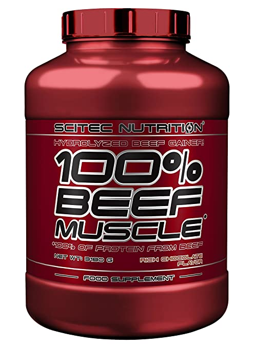 Scitec Nutrition Beef Muscle Schokolade, 1er Pack (1 x 3.18 kg)