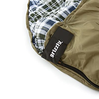 Grizzly 2 Person 0 Degree RipStop Sleeping Bag