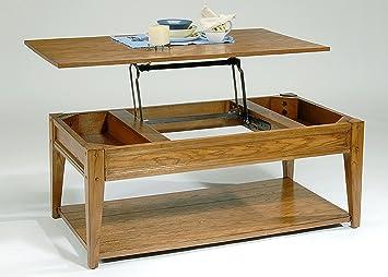 Lake House Lift Top Coffee Table - Oak