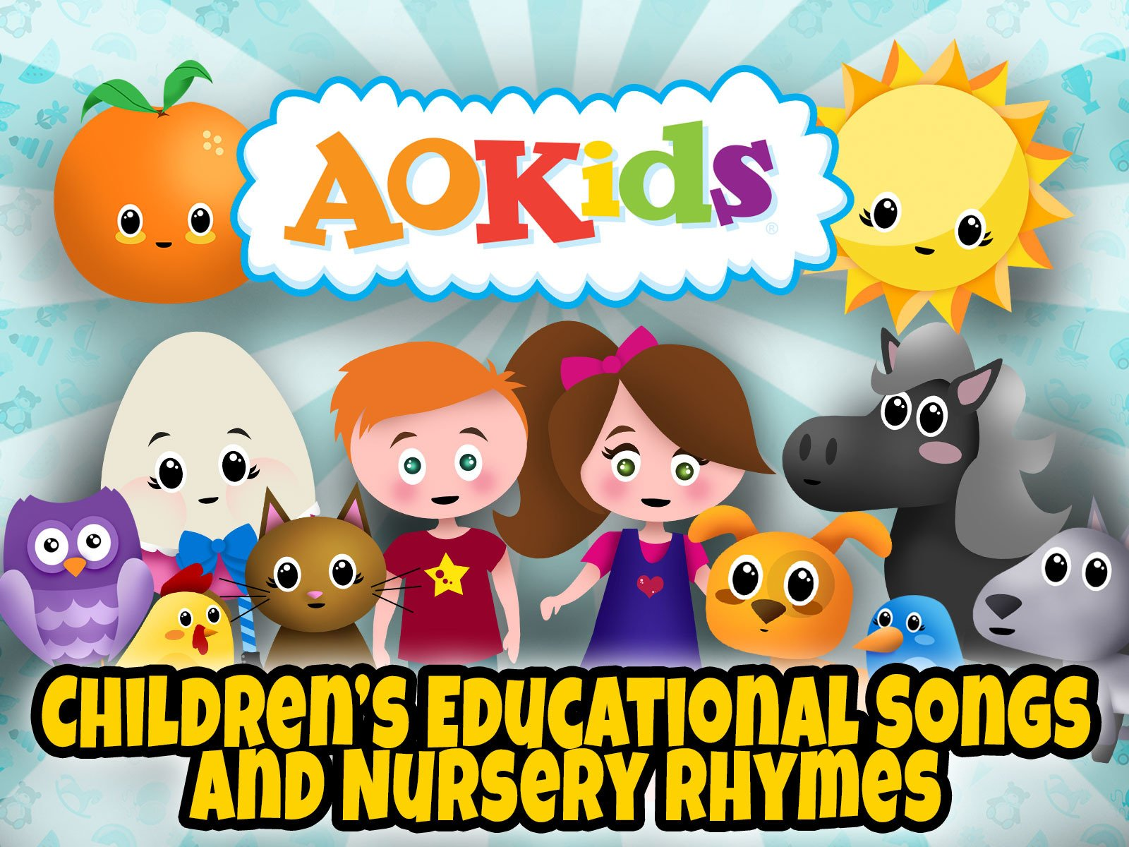 AO Kids | Educational Children's Songs and Nursery Rhymes - Season 1