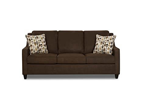 Simmons Upholstery Twillo Java Hide-a-Bed, Queen