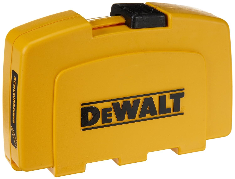 dewalt dw2176 37 piece screwdriving set drill driver case power screw bore di. Black Bedroom Furniture Sets. Home Design Ideas