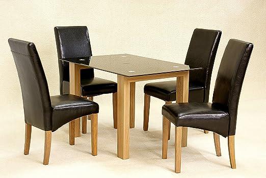 Adina Black Small Dining Table